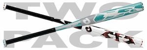 DeMarini CF5 and CF6 Fastpitch Bat WTDXCFS Mixed 2-pack