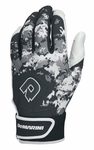 DeMarini Digi Camo Adult Batting Glove WTD6113 - Black