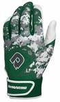 DeMarini Digi Camo Adult Batting Glove WTD6113 - Dark Green