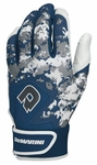 DeMarini Digi Camo Adult Batting Glove WTD6113 - Navy