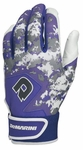 DeMarini Digi Camo Adult Batting Glove WTD6113 - Purple
