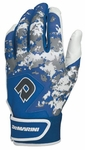 DeMarini Digi Camo Adult Batting Glove WTD6113 - Royal