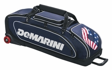 DeMarini Navy Special Ops Wheeled Bat Bag WTD9409NA