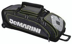 DeMarini Special Ops Wheeled Bag WTD9409 - Charcoal
