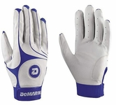 DeMarini Vexxum Youth Batting Glove - Royal
