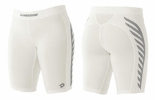 DeMarini Women's Game Day TORQ-D Sliding Shorts White WTD305010