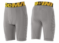 DeMarini Youth Grey Premium Sliding Shorts WTD205120