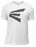 Easton Adult Screamin E Logo White/Black-Camo Tee 8060108