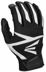 Easton Black/Black Adult Z3 Hyperskin Batting Gloves