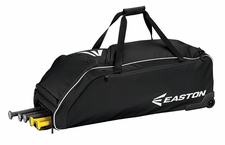 Easton Black E610W Wheeled Bat Bag A159032