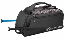 Easton Black Hybrid Backpack/Duffle Bag