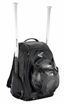 Easton Black Walk-Off IV Ball Backpack A159027BK