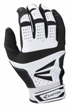 Easton Black / White Adult HS9 Batting Gloves A121588