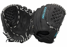 """Easton Core Pro Fastpitch Series 12.5"""" Outfield Glove COREFP1250BKGY"""