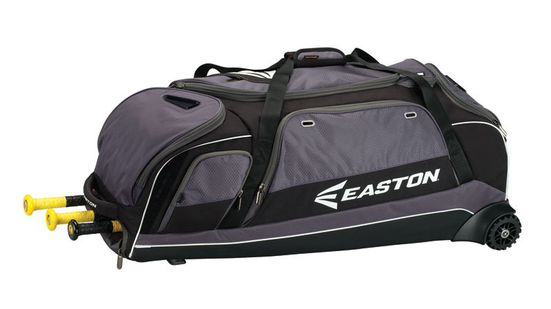 Black Only Easton E900c Wheeled Equipment Bag