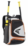 Easton Equipment E200P Black/White/Orange Backpack