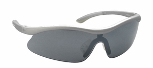 Easton Flare Sunglasses - Silver/Smoke