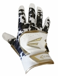 Easton HS7 Adult White/Gold Batting Glove