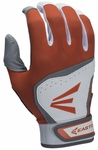 Easton HS7 Adult White/Orange Batting Glove (2015)