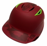 Easton LLWS Z6 Youth - Red Camo / Neon Green
