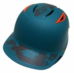 Easton LLWS Z6 Youth - Teal Camo / Orange