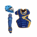 Easton LLWS M10 Custom Color Catcher's Set Adult - Blue / Yellow