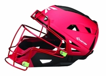 Easton Mako II C-Helmet - Red / Black