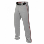 Easton Mako II Gray/Red Piped Pant