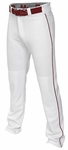 Easton Mako II Piped Pants - White / Maroon