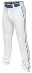 Easton Mako II Piped Pants - White / Royal