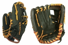"Easton MAKO Pro Series 11.5"" Infield Ball Glove EMK1150 (2015) All Black with Natural Laces"
