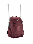 Easton Maroon Walk-Off IV Ball Backpack A159027MN
