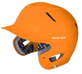 Easton Natural Grip Solid Adult Orange Batting Helmet A168023