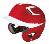 Easton Natural Grip Two Tone Adult Red/White Batting Helmet