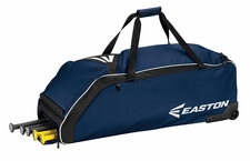 Easton Navy E610W Wheeled Bat Bag A159032