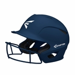 Easton Navy Fastpitch Prowess Grip Batting Helmet with Mask A168505NY-M/L