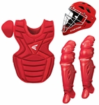 Easton Red Intermediate Catcher's Set w/ Large Helmet Ages 13-15