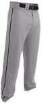 Easton Rival 2 Gray/Black Youth Piped Baseball Pants A167125GYBK