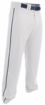 Easton Rival 2 White/Navy Youth Piped Baseball Pant A167125WHNY