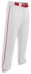 Easton Rival 2 White/Red Youth Piped Baseball Pant A167125WHRD