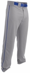 Easton Rival 2 Grey/Royal Piped Youth Baseball Pant A167124GRRY