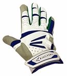 Easton Royal Blue / Green Adult HS9 Batting Glove A121742