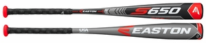 "Easton S650 2-5/8""Youth USA Bat YBB18S6509 -9oz (2018)"