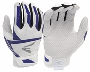 Easton Stealth Fastpitch Batting Glove - White / Purple
