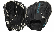 "Easton Stealth Pro Fastpitch Series 12.5"" Outfield Glove STFP1250BKWH (2017) -- Left Hand Throw"