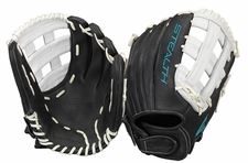 "Easton Stealth Pro Fastpitch Series 12.75"" Outfield Softball Glove STFP1275BKWH (2017)"