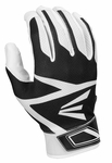 Easton White/Black Z3 Tee Ball Z3 Hyperskin Batting Glove A121353