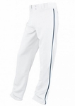 Easton Adult White/Navy Rival Piped Pants A164561