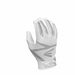 Easton White/White Adult Z3 Hyperskin Batting Gloves