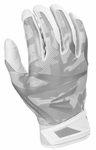 Easton White/White Camo Youth Z7 Hyperskin Batting Gloves